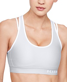 Women's HeatGear® Cross-Back Mid-Impact Sports Bra