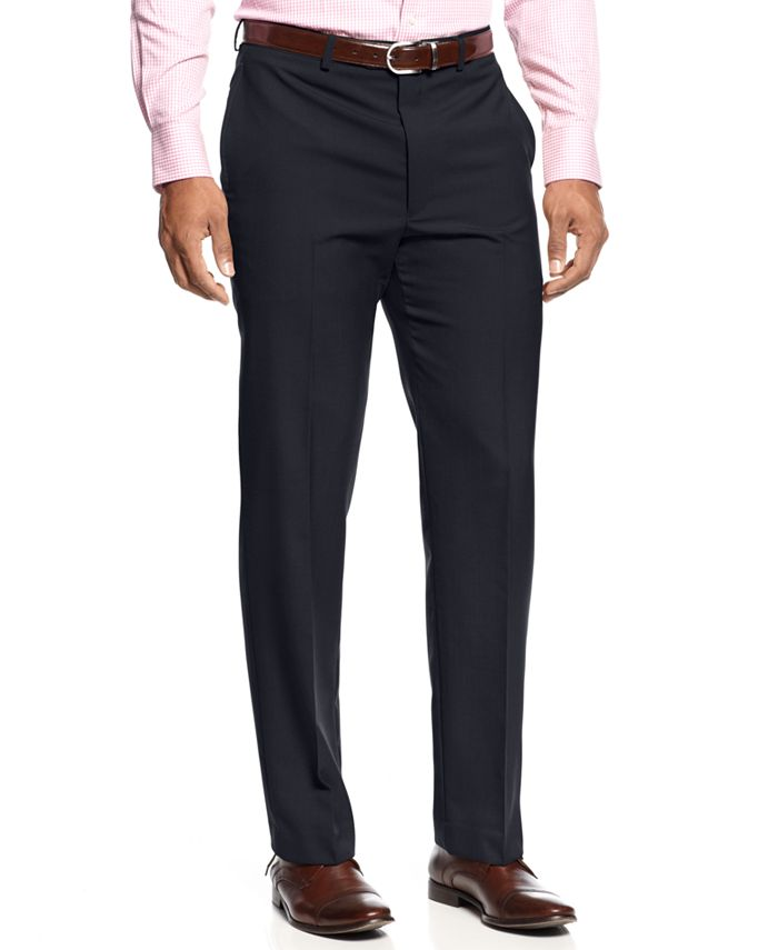 Lauren Ralph Lauren - Dress Pants, Pleat Front Solid Pants