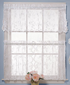 Saturday Knight Petite Fleur Cafe Window Treatment Collection