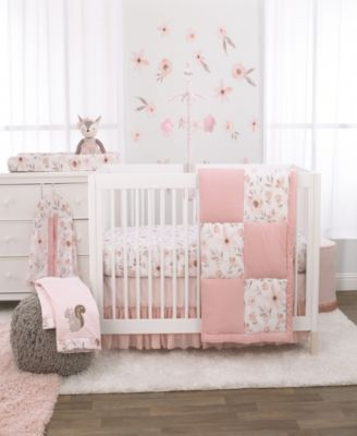 Countryside Floral 4-Piece Crib Bedding Set