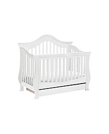 Ashbury 4-in-1 Convertible Baby Crib including Toddler Rail