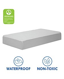 Deluxe Coil Extra Firm Mini Crib Baby Mattress