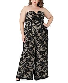 Plus Size Magic Lace Jumpsuit