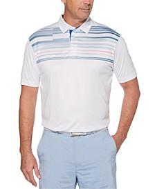 Men's Printed Golf Polo