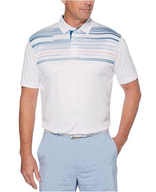 PGA TOUR Men's Printed Golf Polo