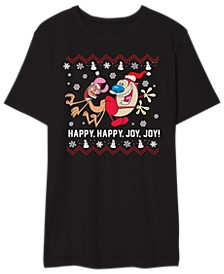 Happy Happy Joy Joy Men's Graphic T-Shirt