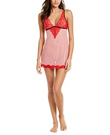 INC Sheer Lace Chemise Nightgown, Created For Macy's