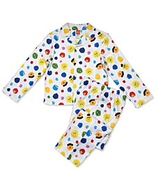 Isaac Mizrahi Loves SesStreet Toddler Boys 2-Pc. Pajama Set
