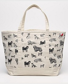 Womens's Doggy Love Boat Bag