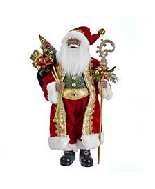 18-Inch Kringle Klaus African American Santa