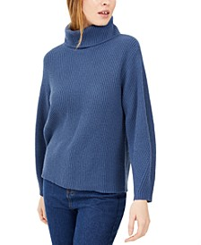 Petite Ribbed Turtleneck