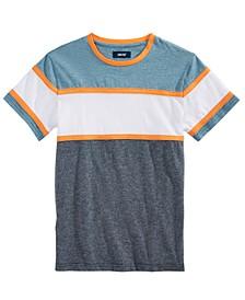 Big Boys Davy Pieced Colorblocked T-Shirt