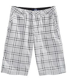 Big Boys Equator Plaid Shorts