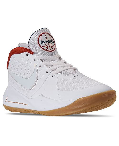 Nike Big Boys Team Hustle D 9 Basketball Sneakers from Finish Line