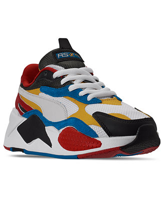Puma Big Boys RS-X Puzzle Casual Sneakers from Finish Line ...