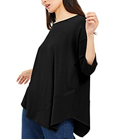 Asymmetrical-Hem Tunic, Created For Macy's