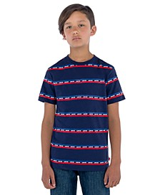 Toddler Boys Logo Stripe T-Shirt