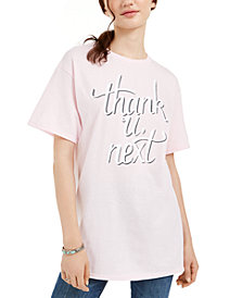 Freeze 24-7 Juniors' Graphic-Print Cotton T-Shirt