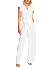 Pleated Jumpsuit