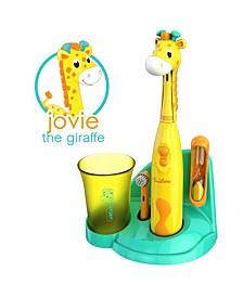 Kids Electric Toothbrush Giraffe Set