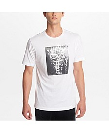Paris Men's Crew Neck T-Shirt With Karl Sequined Character