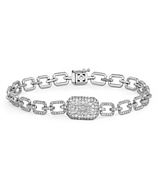 Diamond (1-1/3 ct. t.w.) Ice Cube Bracelet in 14K White Gold
