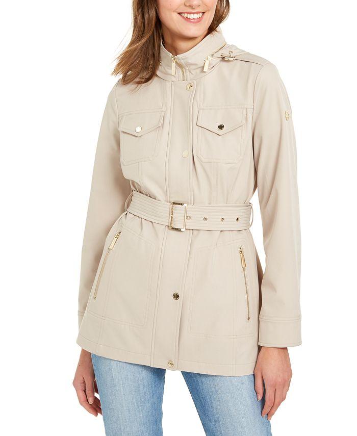Michael Kors - Hooded Belted Coat