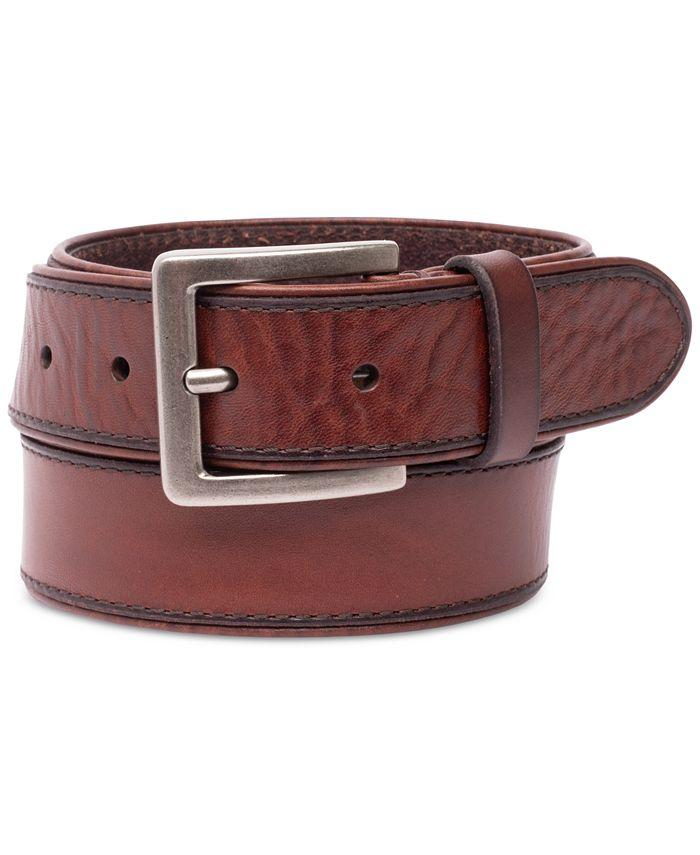 Levi's - Men's Logo Leather Belt