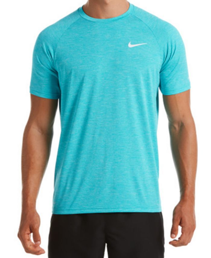 Nike - Men's Hydroguard Dri-FIT Stretch UPF 40+ Heather Rash Guard