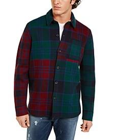 Men's Salvatore Regular-Fit Plaid Sweater Shirt