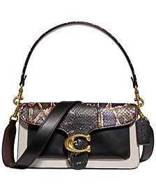 Snakeskin Tabby Shoulder Bag 26