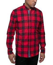 Men's Plaid Shirt-Jacket