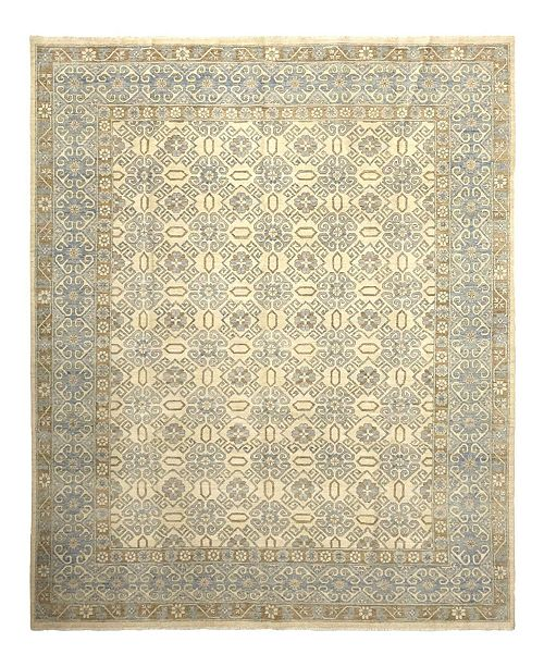 """Timeless Rug Designs One of a Kind OOAK905 Flax 9'4"""" x 12'1"""" Area Rug"""