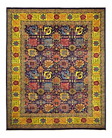"""CLOSEOUT! One of a Kind OOAK953 Plum 9'10"""" x 13'9"""" Area Rug"""