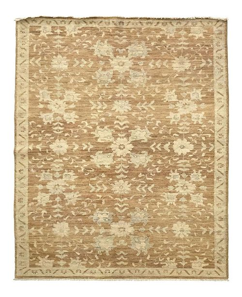 """Timeless Rug Designs CLOSEOUT! One of a Kind OOAK1011 Chestnut 5'4"""" x 7'10"""" Area Rug"""