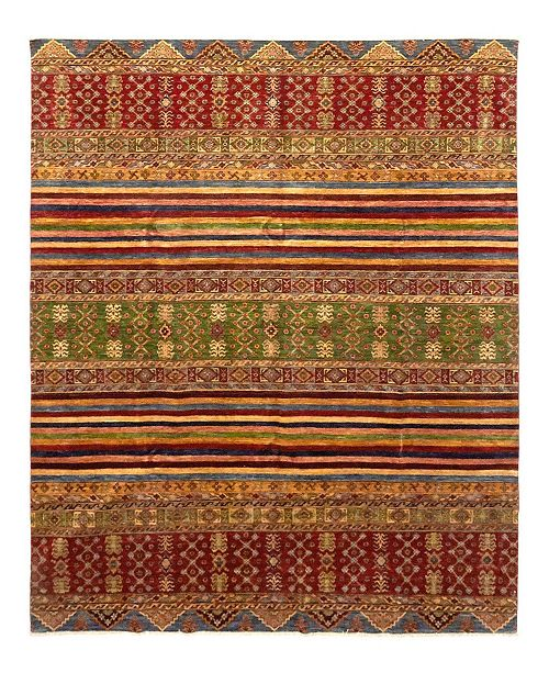 "Timeless Rug Designs CLOSEOUT! One of a Kind OOAK1125 Caramel 8'1"" x 9'9"" Area Rug"