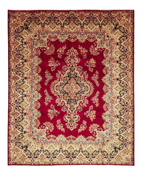 """Timeless Rug Designs CLOSEOUT! One of a Kind OOAK1525 Orange 9'10"""" x 13'2"""" Area Rug"""