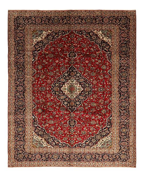 """Timeless Rug Designs CLOSEOUT! One of a Kind OOAK1553 Red 9'6"""" x 13' Area Rug"""