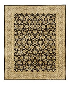 "Timeless Rug Designs One of a Kind OOAK3969 Onyx 6'2"" x 9'3"" Area Rug"