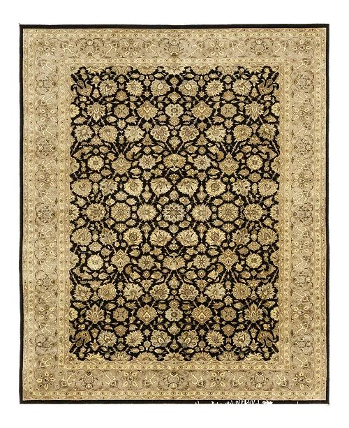 """Timeless Rug Designs CLOSEOUT! One of a Kind OOAK3969 Onyx 6'2"""" x 9'3"""" Area Rug"""
