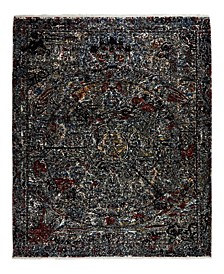 "One of a Kind OOAK2378 Onyx 6'2"" x 9'4"" Area Rug"