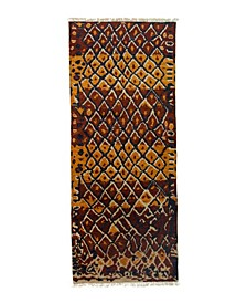 "CLOSEOUT! One of a Kind OOAK3268 Chestnut 5' x 12'2"" Runner Rug"
