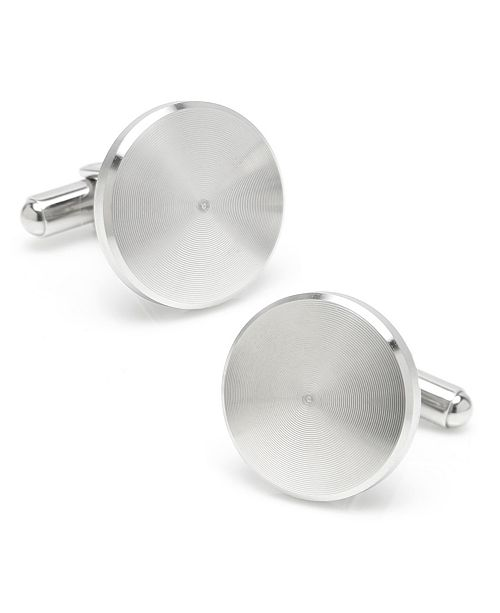Ox & Bull Trading Co. Ox Bull & Trading Co Brushed Radial Cufflinks