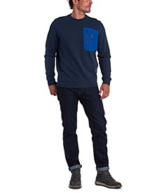 Men's Skiff Regular-Fit Colorblocked Pocket Sweatshirt