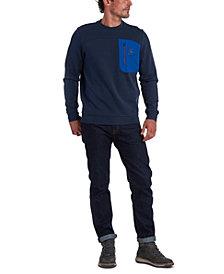 Barbour Men's Skiff Regular-Fit Colorblocked Pocket Sweatshirt