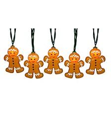 10-Light Gingerbread Light Set