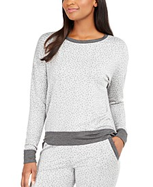 Women's Animal-Print Pajama Top, Created for Macy's