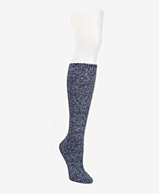 Super Soft Chunky Cable Knee-High Sock, Online Only