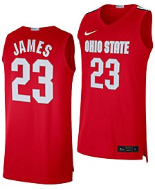 Men's LeBron James Ohio State Buckeyes Limited Basketball Player Jersey