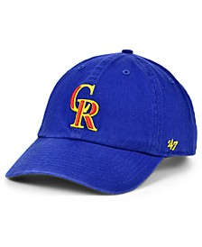 Colorado Rockies Core CLEAN UP Strapback Cap